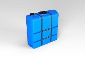 Емкость К-1000 литров в обрешетке