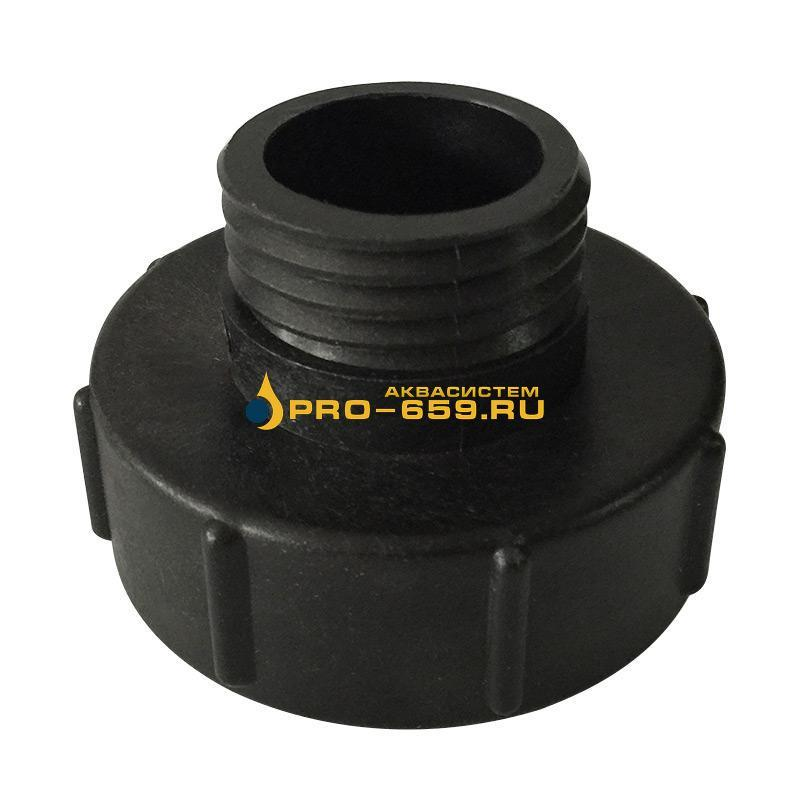 Переходник со 100 мм на 62 мм для еврокуба