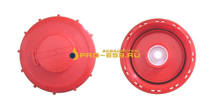 Крышка 163 мм верхняя для еврокуба (c клапаном)
