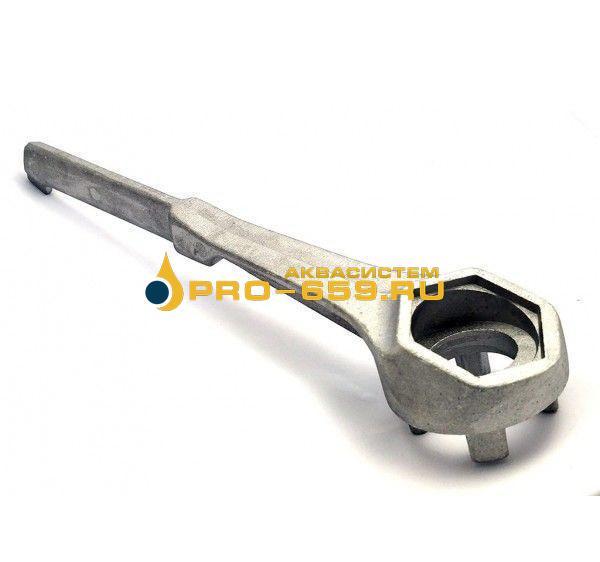 Ключ искробезопасный из дюралюминия для большинства пробок на бочка